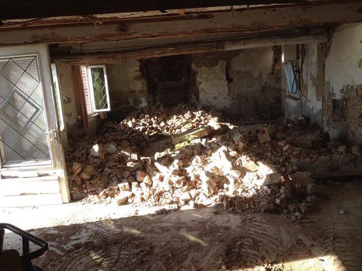 Renovatie , Vloerrenovatie, nieuwebetonplaat
